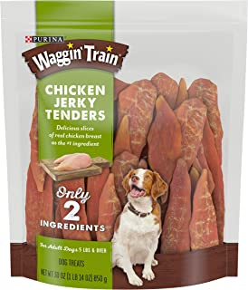 Purina Waggin Train Chicken Jerky Tenders High Protein, Limited Ingredient Adult Dog Treats