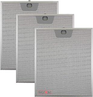 Kit de 3 piezas. Filtros de aluminio para campanas Faber 253