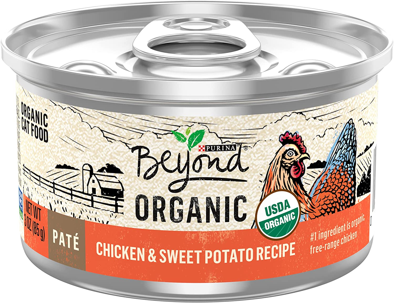New! Purina Beyond Organic High Protein Wet Cat Food