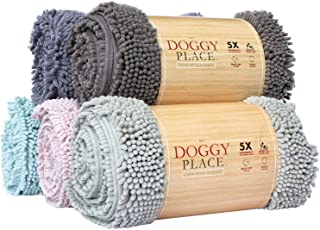 My Doggy Place - Ultra Absorbent Microfiber Dog Door Mat, Durable, Quick Drying, Washable, Prevent Mud Dirt, Keep Your Hou...