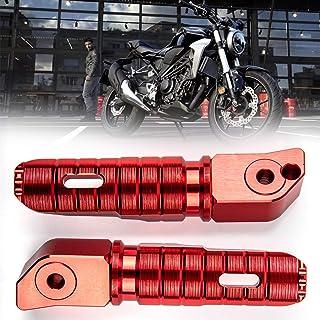 KESOTO Paire de Repose-Pieds Arri/ère P/édale de Moto pour Honda CBR 1000RR 600RR Argent