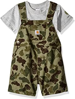 Baby Boys 2-Piece Shortall Clothing Set