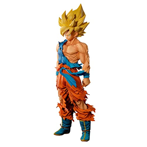 Banpresto Dragon Ball Z Super Saiyan Goku Master Stars Piece Supreme The Son Goku Figure,