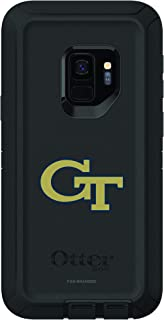 Fan Brander NCAA Black Phone case, Compatible with Samsung Galaxy S9 and with OtterBox Defender Series