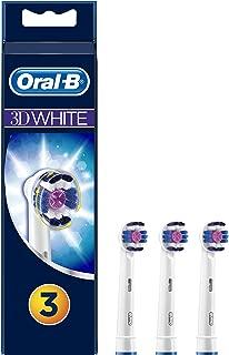 Oral-B 3DWhite Cabezales De Recambio - Pack De 3 Unidades