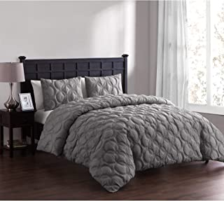 VCNY Home Atoll Duvet Cover Set, Queen, Taupe