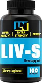 Liver Support- Cleanse Supplement- Natural Liver Health Formula with Milk Thistle & N-Acetyl-L-Cystein (NAC). Bodybuilding PCT Supplement, Natural Remedy, Cleanse The Liver from Toxins