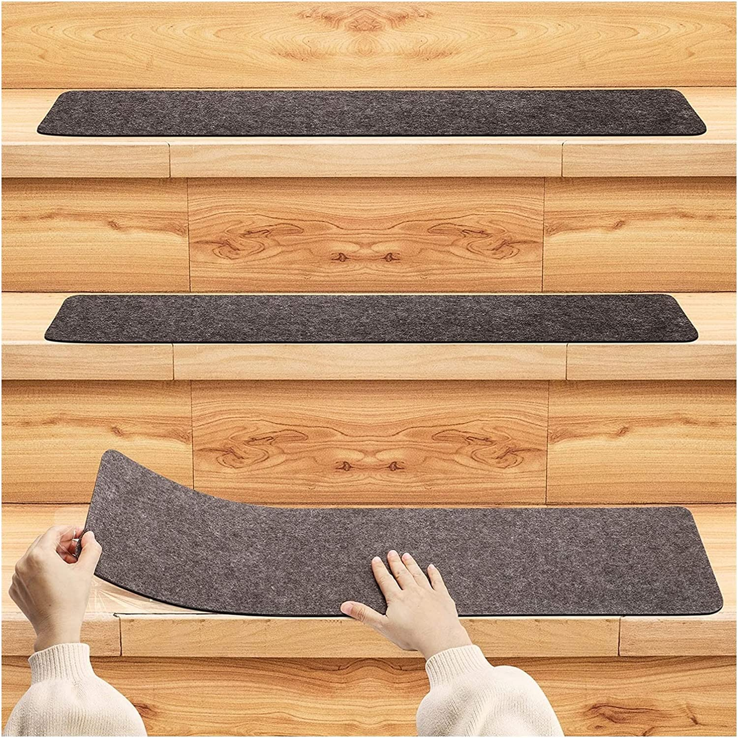 MTDWEITOO Stair Treads Year-end gift Carpet Non Wooden for Slip Fashion Runners