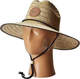 110e322637fd0 Quiksilver. Pierside Slimbot Straw Lifeguard Hat.  20.00. Dredge Waterman  Hat
