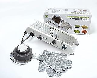Tasty health® Mandoline de Cuisine I Coupe Legume I Mangez Sainement I Coupe Legumes Multifonctions I Mandoline de Cuisine...