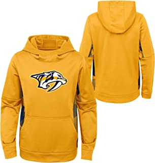 OuterStuff Youth NHL Nashville Predators Performance Hoodie Youth Sizing (Youth L (14/16))