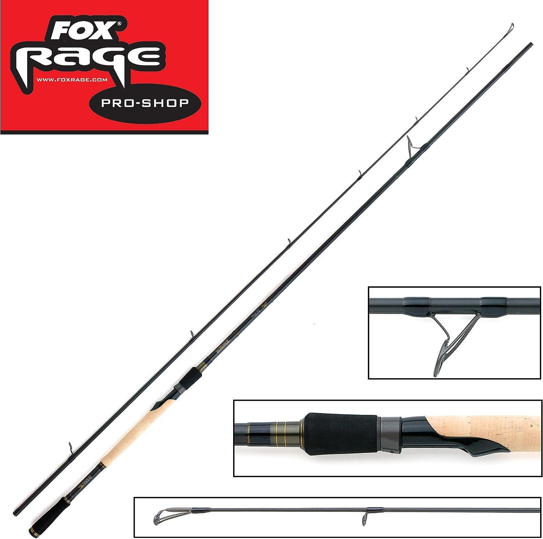 Fox Rage Terminator Pro Bait force 228cm 30-80g Spinnrute, Angelrute zum Spinnfischen, Spinnangeln, Rute zum Angeln auf Raubfische, Kunstkderrute, Barschrute, Zanderrute, Hechtrute