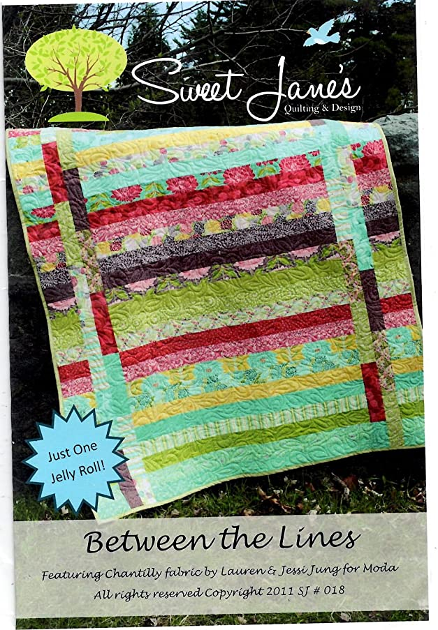 Between the Lines Quilt Pattern by Sweet Jane's Quilting and Design 49