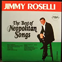 JIMMY ROSELLI THE BEST OF THE NEOPOLITAN SONGS vinyl record