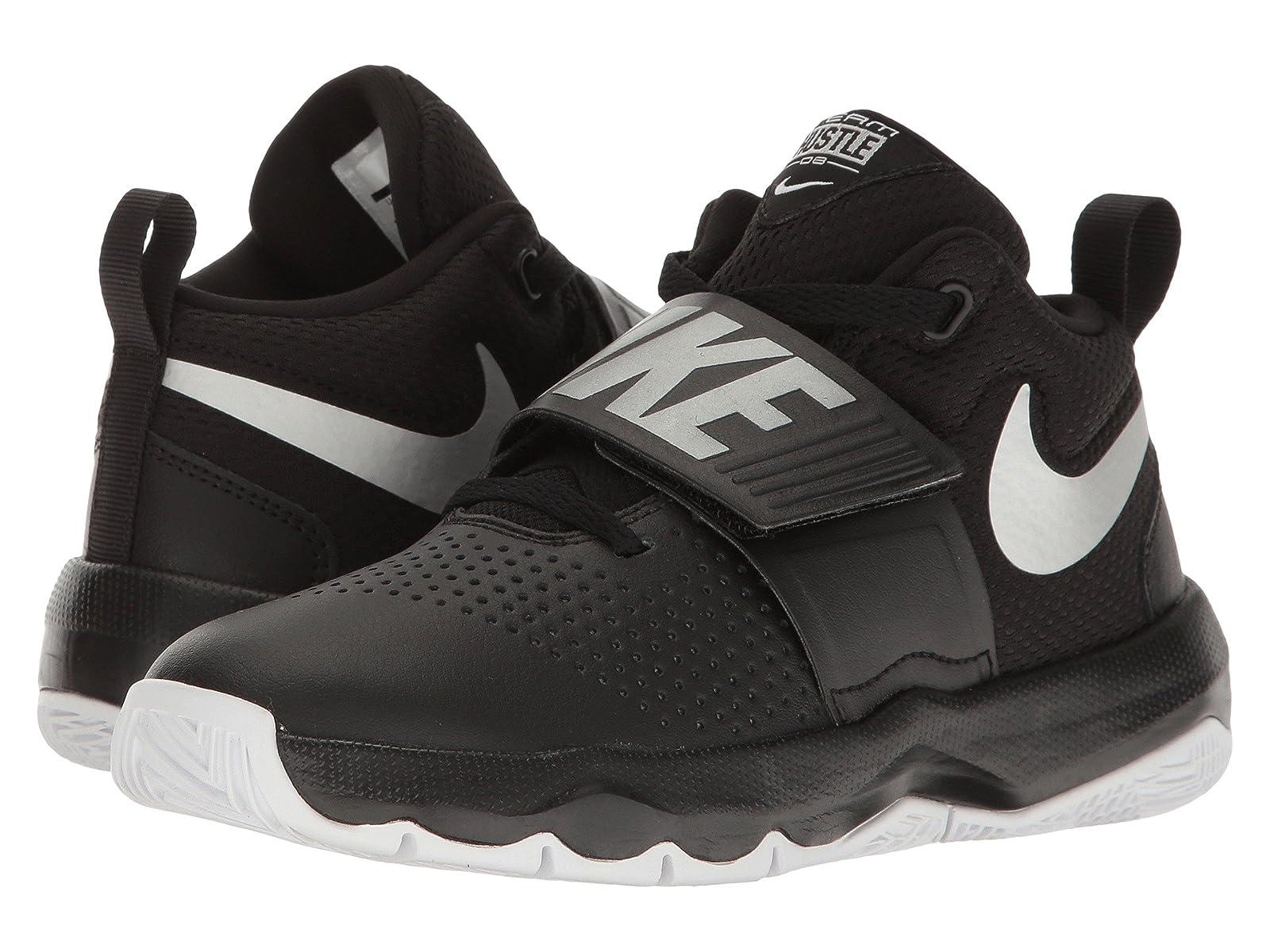 Nike Kids Team Hustle D8 (Big Kid)Atmospheric grades have affordable shoes