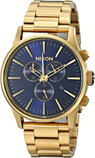 Nixon Men's Geo Volt Sentry Stainless Steel Watch with Link Bracelet