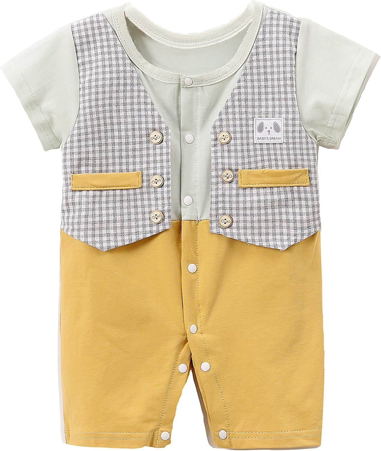 Tulsa Mall OFFicial store Beal shopping Baby T-Shirt Gen Boy Suit One-Piece