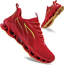 APRILSPRING Mens Jogging Shoes Fashion Sports Shoes Non-Slip Walking Shoes