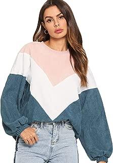 Best color block sweatshirt Reviews
