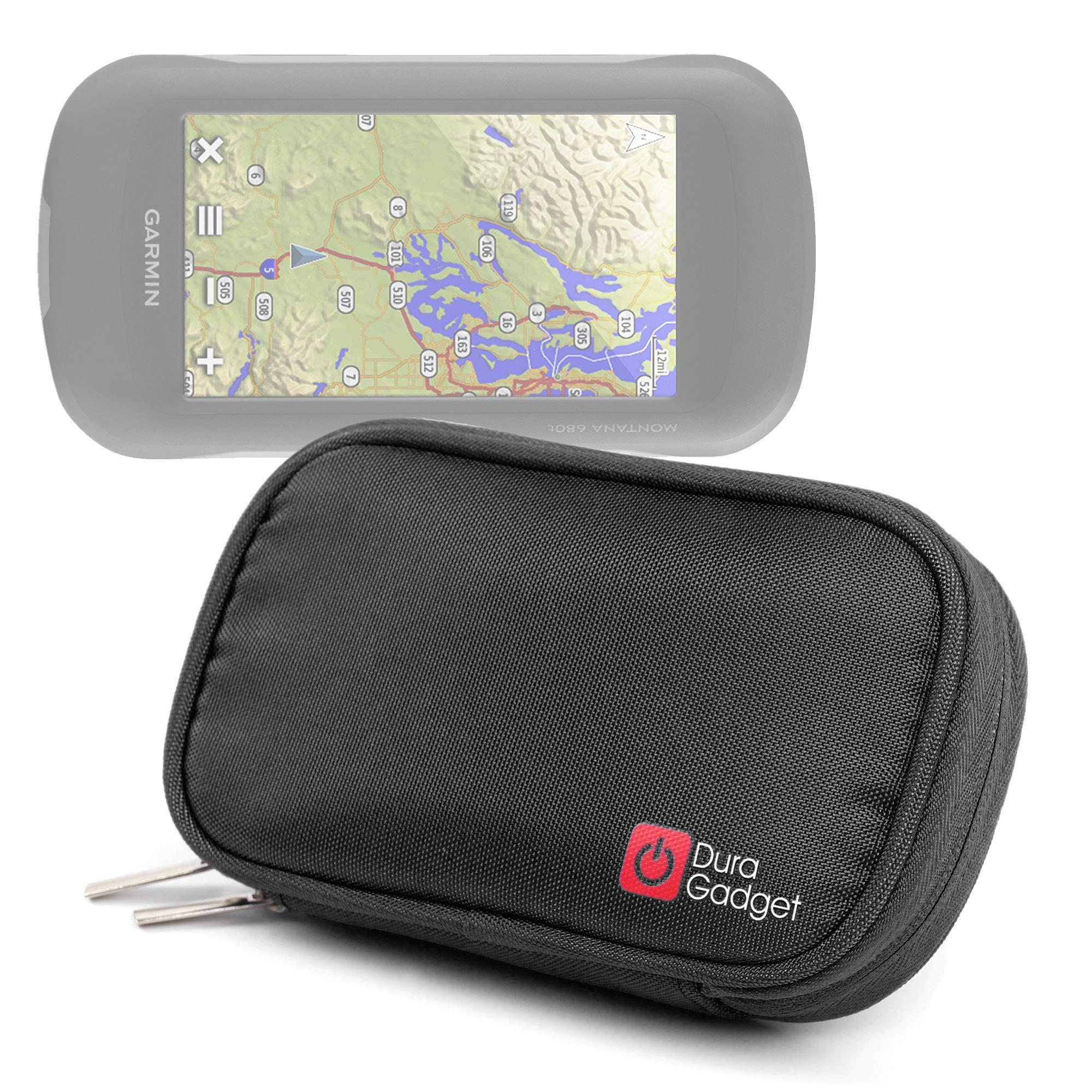 Funda de neopreno para GPS de navegación GPS Garmin Montana/610, 680, 5000, TomTom 680T Trucker enganche para cinturón y asa: Amazon.es: Electrónica