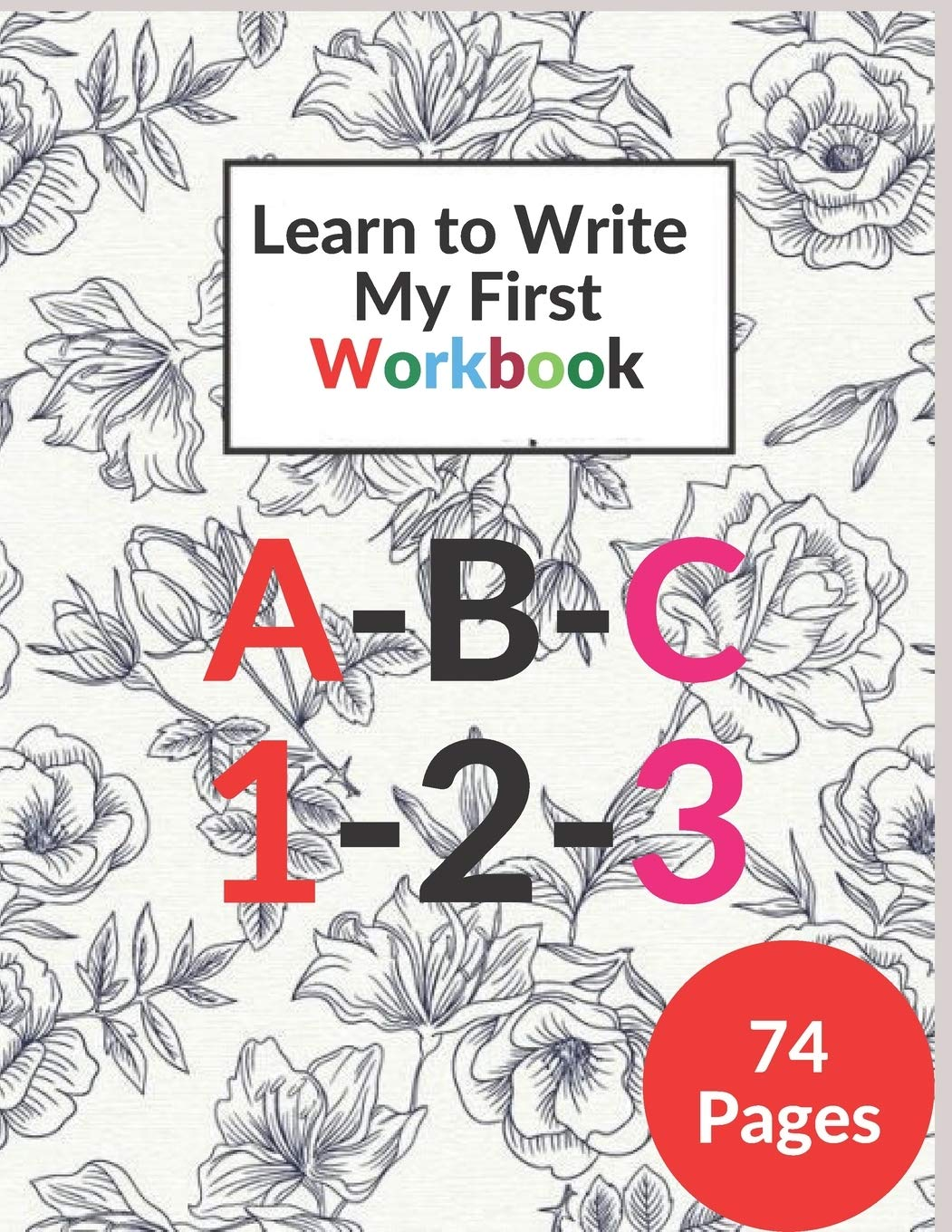 Cover image of My First Learn to Write Workbook by Coloring Kid's