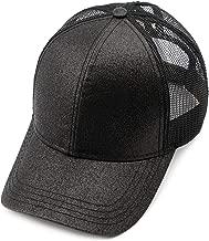 C.C Hatsandscarf Ponytail caps Messy Buns Trucker Plain Baseball Cap (BT-6)