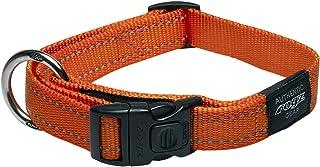 Rogz Reflective Dog Collar, Orange, X-Large