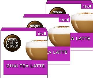 Nescafé Dolce Gusto capsules Chai Tea Latte - 48 koffiecups - geschikt voor 24 koppen koffie - Dolce Gusto cups