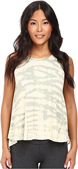Hard Tail - Halter Crew Flyback Tank Top