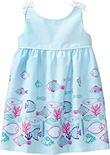 Gymboree Baby Girls Sleeveless Fish Border Dress