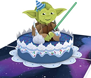 Lovepop Star Wars Yoda Birthday Pop-Up Card, Celebration Card, Birthday Card, 3D Greeting Cards, Fun Pop-Up Cards, Kids Birthday Cards