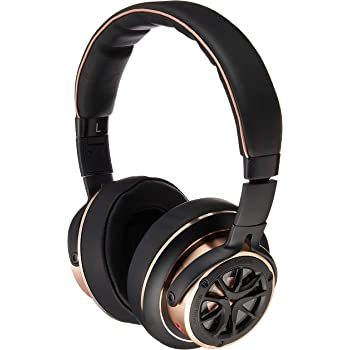 1MORE Triple Driver Over-Ear Headphones Comfortable Foldable Earphones with Hi-Res Hi-Fi Sound, Bass Driven, Tangle-Free Detachable Cable for Smartphones/Android/PC/Tablet - Gold