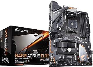Gigabyte B450 Aorus Elite Carte Mere AMD B450 – svart