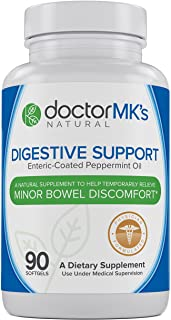 Sponsored Ad - IBS Relief Supplement by Doctor MK's®, Compare to IBgard® Ingredients, 90 Capsules of Enteric Coated Pepper...