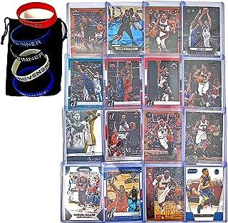 Basketball Cards: Curry, Lebron, Durant, Liliard, Kawhi Leonard, Wade, Paul George, Butler, Bradley Beal, DeRozan, Lamarcus Aldridge, Walker, Gay, CJ Mccollum, Williams, Rose (16) Card Gift Bundle