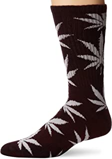 HUF Men's Tie Dye Plantlife Crew Sock