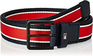 حزام اوربان 3.5 للرجال من تومي هيلفجر، ازرق، طول 90 سم