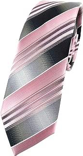 TigerTie schmale Designer Krawatte in gestreift gemustert - Tie Binder