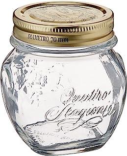 Bormioli Rocco Quattro Stagioni Anphora 10 1/4 Ounce Canning Jar, Set of 12