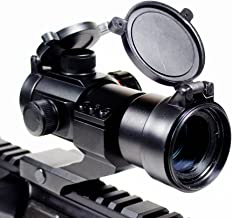 Ozark Armament Rhino Red Dot Sight - Green Dot Sight - Includes Picatinny Mount - Co-Witness - Reflex Rifle Sight