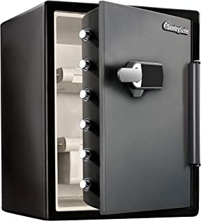 Sentry Safe SFW205TWC 56.6L Digital Fire Water Safe, Large (Combination Safe with Touchscreen Alarm Lock)
