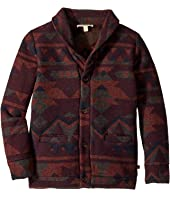 Extra Soft Button Up Print Shelby Cardigan (Toddler/Little Kids/Big Kids)