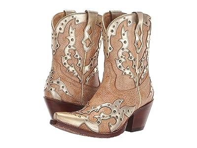 Ariat Sapphire (Warm Stone) Cowboy Boots