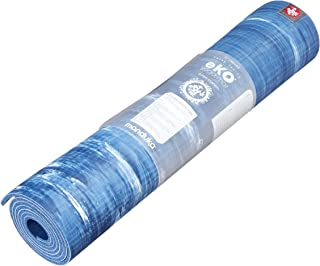 Manduka eKO Yoga Mat – Premium 6mm Thick Mat, Eco Friendly and Made from Natural Tree Rubber. Ultimate Catch Grip for Supe...