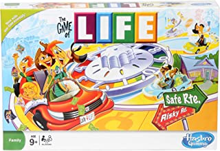 Hasbro Gaming The Game of Life game, board game, Ages 8 years and Up