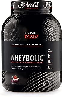 GNC AMP Wheybolic - Strawberries and Cream
