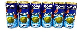 Goya Guava Nectar Juice 9.6oz (284mL), 6 Pack