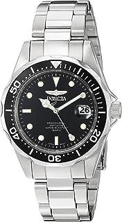 [インビクタ]Invicta 腕時計 Pro Diver メンズ 石英 37.5mm ケース シルバー ステンレス鋼ストラップ ブラックダイヤル 8932 メンズ 【正規輸入品】