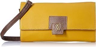 Baggit Autumn-Winter 2020 Faux Leather Women's Harmonium Wallet (Yellow) (Ontario)