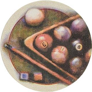 Thirstystone Stoneware Nostalgic Billiards Coaster, Multicolor